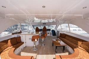 73' Hatteras 72 Motor Yacht 2008 Flybridge Forward