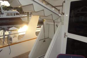 47' Grand Banks Heritage 47 EU 2006 Engine Room Access - under stairs