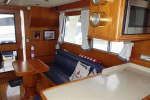 47' Grand Banks Heritage 47 Eu 2006 Salon - portside- looking aft from Galley