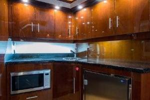 42' Regal 42 Sport Coupe 2013 Galley