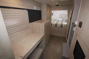 40' Leopard 40 2018 Owners Suite Looking Aft