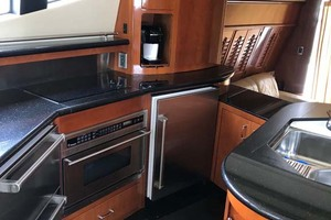 59' Marquis Flybridge Motor Yacht 2004 Galley