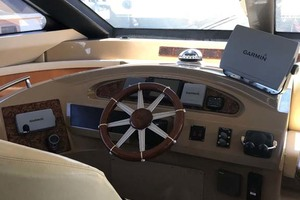 59' Marquis Flybridge Motor Yacht 2004 Lower Helm