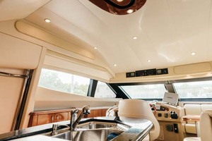 59' Marquis Flybridge Motor Yacht 2004 Galley Double Sink
