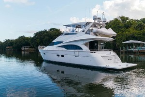 59' Marquis Flybridge Motor Yacht 2004 Port Aft Profile 14