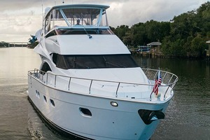 59' Marquis Flybridge Motor Yacht 2004 Starboard Bow