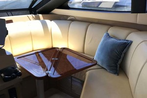 59' Marquis Flybridge Motor Yacht 2004 Dinette Table - opened