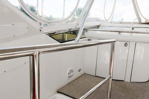 59' Marquis Flybridge Motor Yacht 2004 Access Stairs Landing
