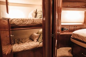 59' Marquis Flybridge Motor Yacht 2004 Guest Stateroom Entry