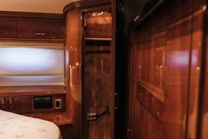 59' Marquis Flybridge Motor Yacht 2004 VIP Stateroom Closet