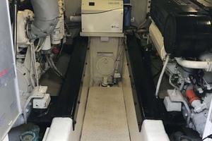59' Marquis Flybridge Motor Yacht 2004  Engine Room