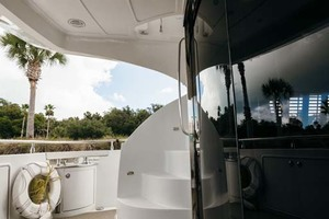 59' Marquis Flybridge Motor Yacht 2004 Aft Deck to Port