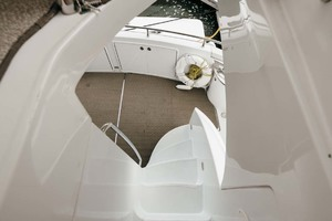 59' Marquis Flybridge Motor Yacht 2004 Aft Deck from Stairs