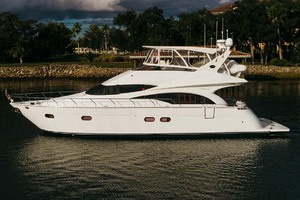 59' Marquis Flybridge Motor Yacht 2004 Port Profile