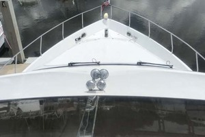 59' Marquis Flybridge Motor Yacht 2004 Foredeck & Bow  from Flybridge
