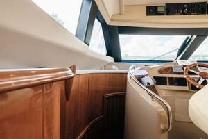 59' Marquis Flybridge Motor Yacht 2004 Companionway Stairs to Staterooms
