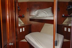 47' Atlantic Motor Yacht 1988 Forward Stateroom