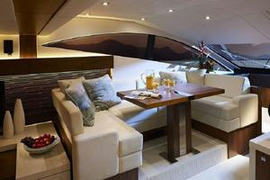 53' Sunseeker Manhattan 53 2012 25 Manufacturer Provided Pic  Dining Area