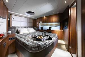 53' Sunseeker Manhattan 53 2012 26 Manufacturer Provided Pic Forward Cabin
