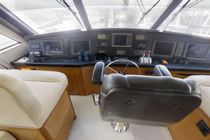 65' Viking Enclosed Bridge 2004