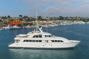 128' Palmer Johnson Custom Tri-deck Motoryacht 2000 KIMBERLY EXTERIOR