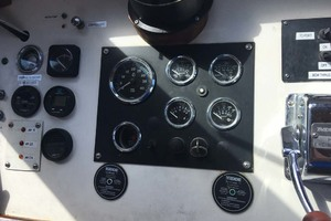 52' Custom Passenger Boat 1979 Gauges