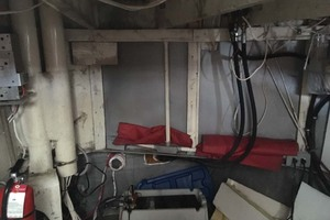 52' Custom Passenger Boat 1979 EngineCompartment