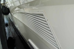 62' Neptunus Cruiser 2004 Painted Engine Room Vents
