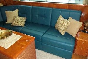 62' Neptunus Cruiser 2004 Salon Sofa to Starboard