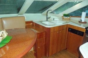 62' Neptunus Cruiser 2004 Galley Forward