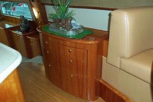 62' Neptunus Cruiser 2004 Galley Storage