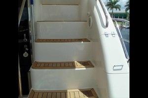 62' Neptunus Cruiser 2004 Flybridge Steps