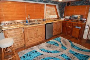 53' Hatteras 53 Convertible 1978 Galley