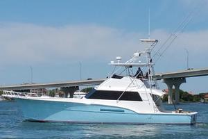 53' Hatteras 53 Convertible 1978 Port Profile