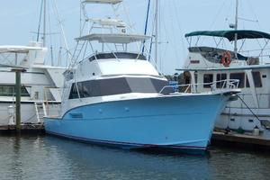 53' Hatteras 53 Convertible 1978 Bow View