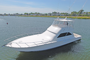 52' Viking 52 Convertible 2006 Port Side Bow