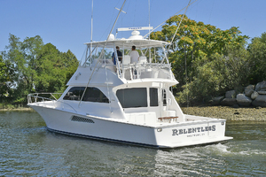 52' Viking 52 Convertible 2006 Port Side Stern