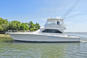52' Viking 52 Convertible 2006 Port Side