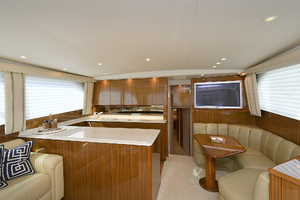 52' Viking 52 Convertible 2006 Galley/Dinette