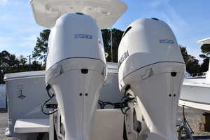 Twin Yamaha 150hp Outboards