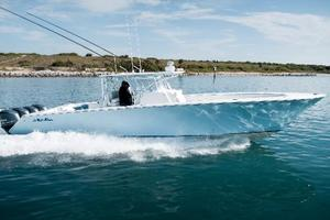 45' Seahunter 45 2015 Profile Stbd