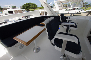 58' Offshore Yachts  1997 Flybridge Seating