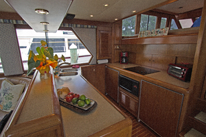 58' Offshore Yachts  1997 Galley