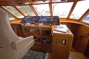 58' Offshore Yachts  1997 PilothouseHelm