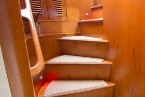 58' Offshore Yachts  1997 Guest Stairway