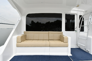 56' Viking 56 Convertible With Mezzanine 2004 Mezzanine Seating