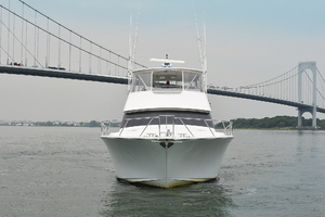 56' Viking 56 Convertible With Mezzanine 2004 Bow