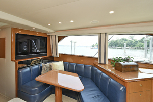 56' Viking 56 Convertible With Mezzanine 2004 Dinette