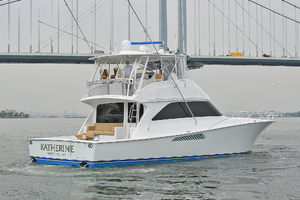 56' Viking 56 Convertible With Mezzanine 2004 Port Side Stern