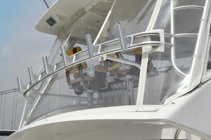 56' Viking 56 Convertible With Mezzanine 2004 Rod Holders